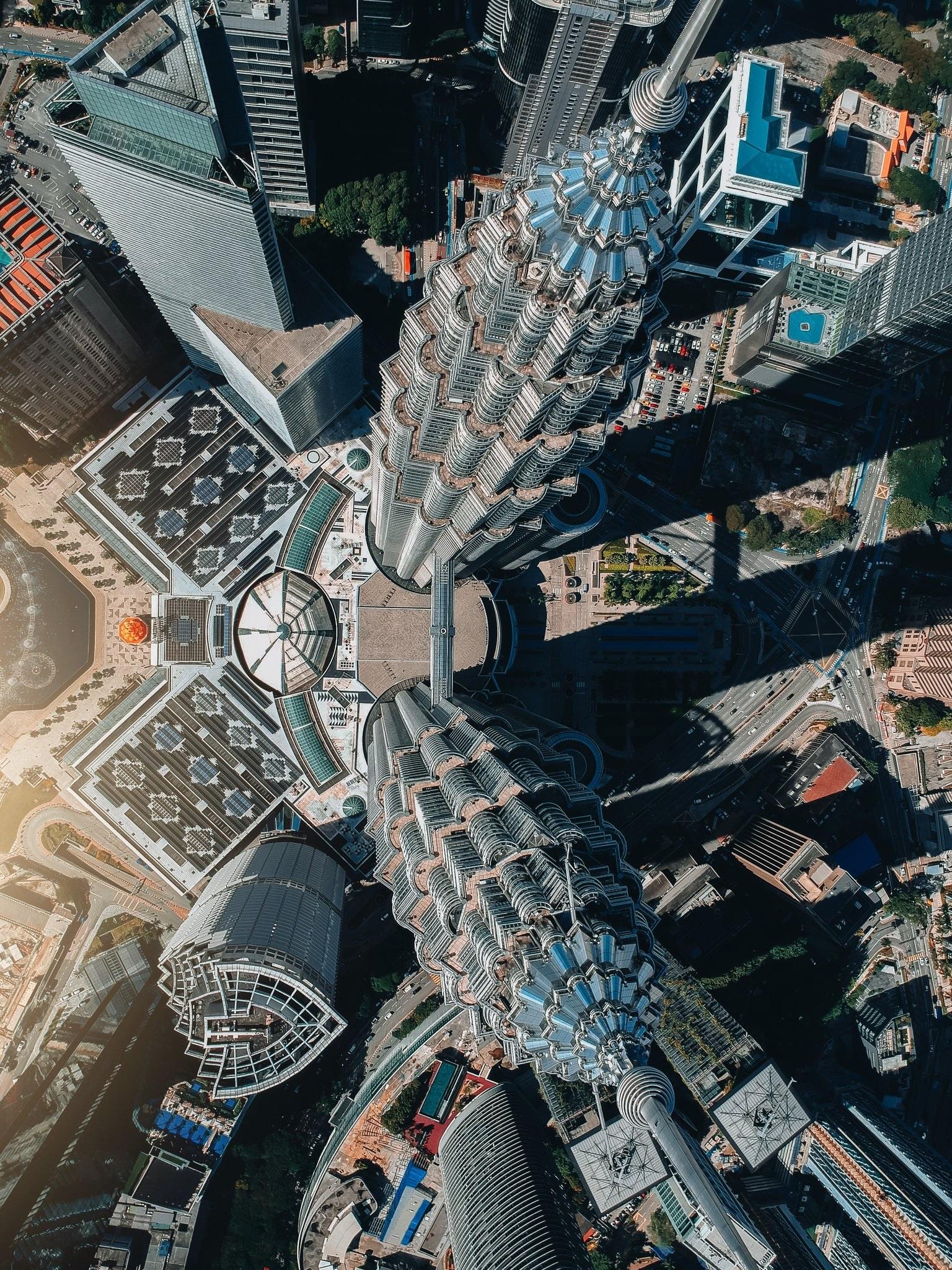 Ảnh đẹp nhất về tháp đôi Petronas trong lòng thủ đô Kuala Lumpur nước Malaysia