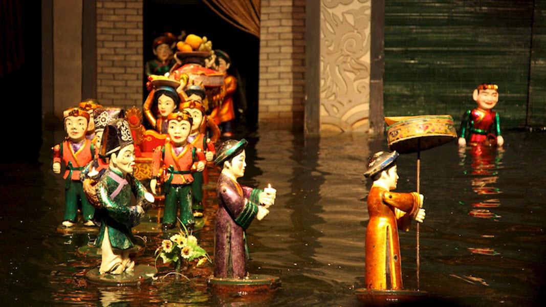Ảnh đẹp về múa rối nước