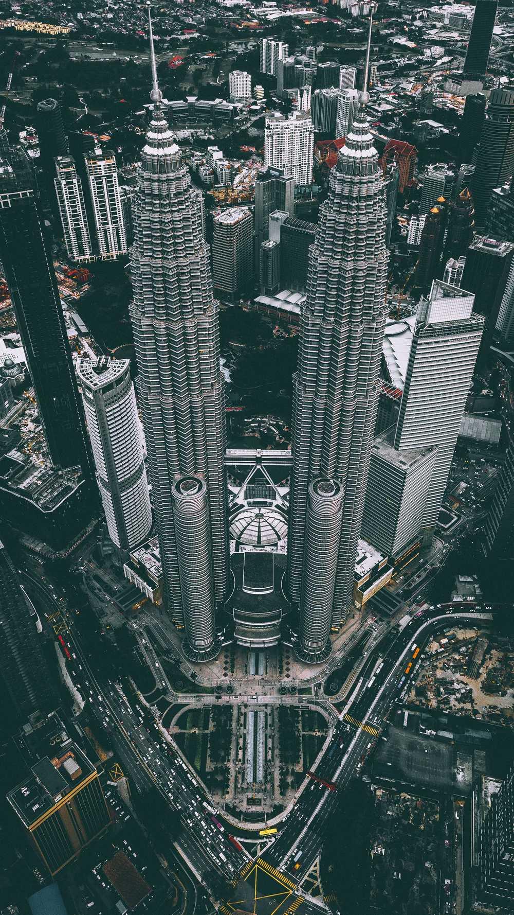 Ảnh đẹp về tháp đôi Malaysia - Petronas Twin Towers