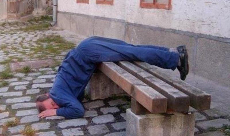 Ảnh hài hước của những người say rượu