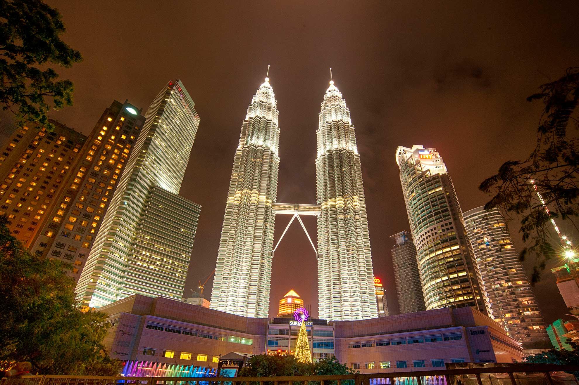 Ảnh tháp đôi Malaysia đẹp