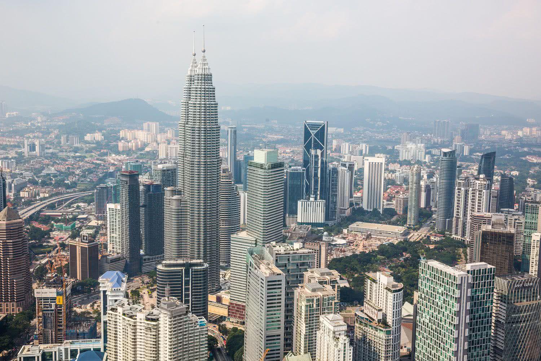 Ảnh tháp đôi Petronas biểu tượng Malaysia