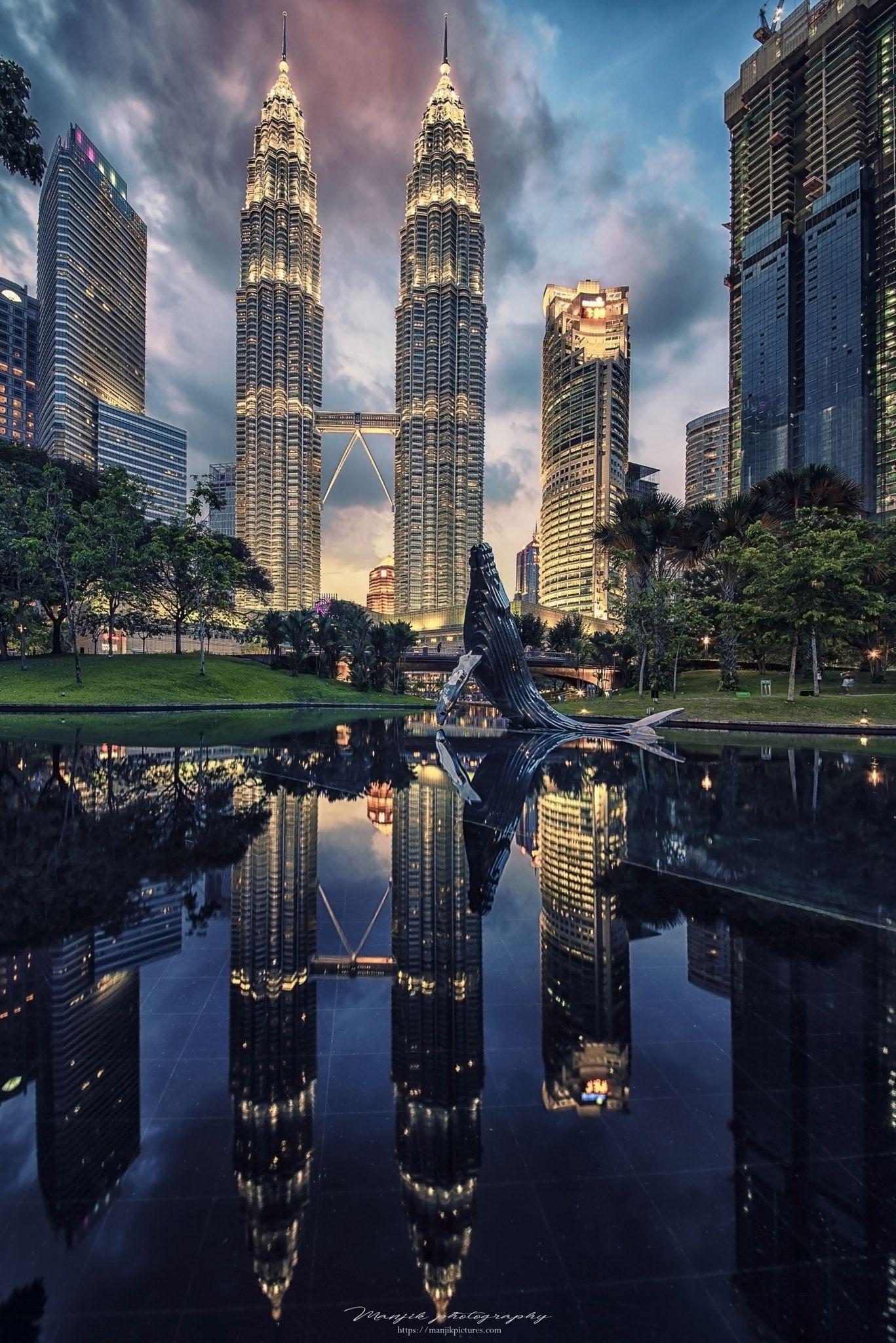 Ảnh tháp đôi Petronas đẹp nhất