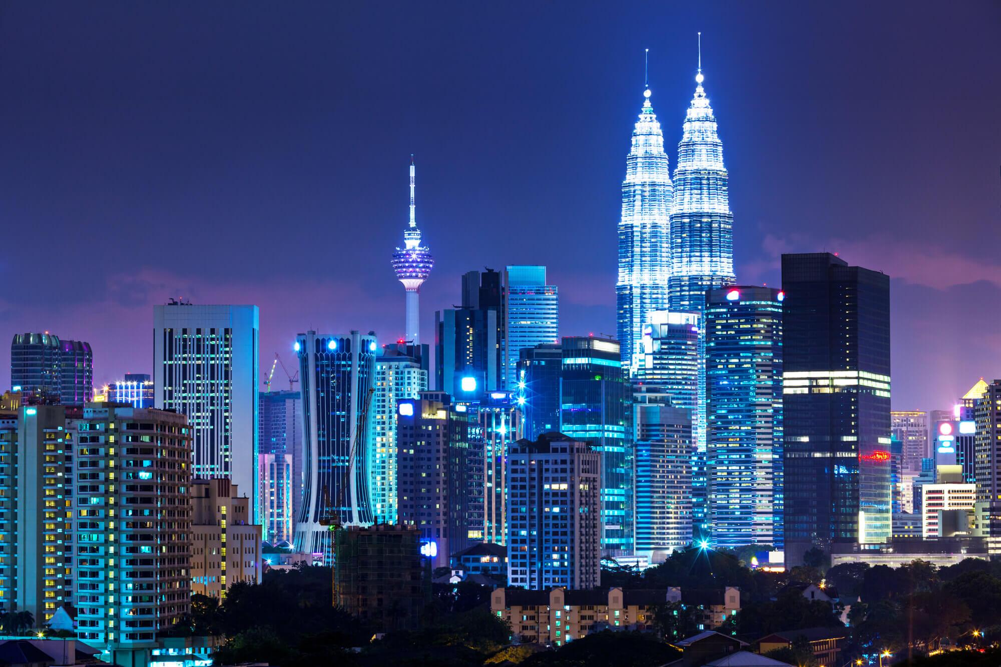 Hình ảnh đẹp chất nhất của tháp đôi Petronas tại Malaysia