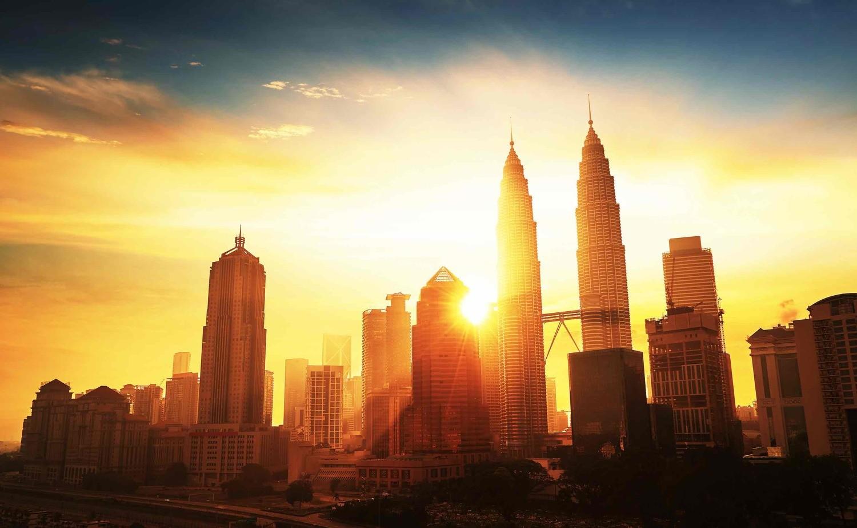 Hình ảnh đẹp nhất về tháp đôi Petronas lúc bình minh