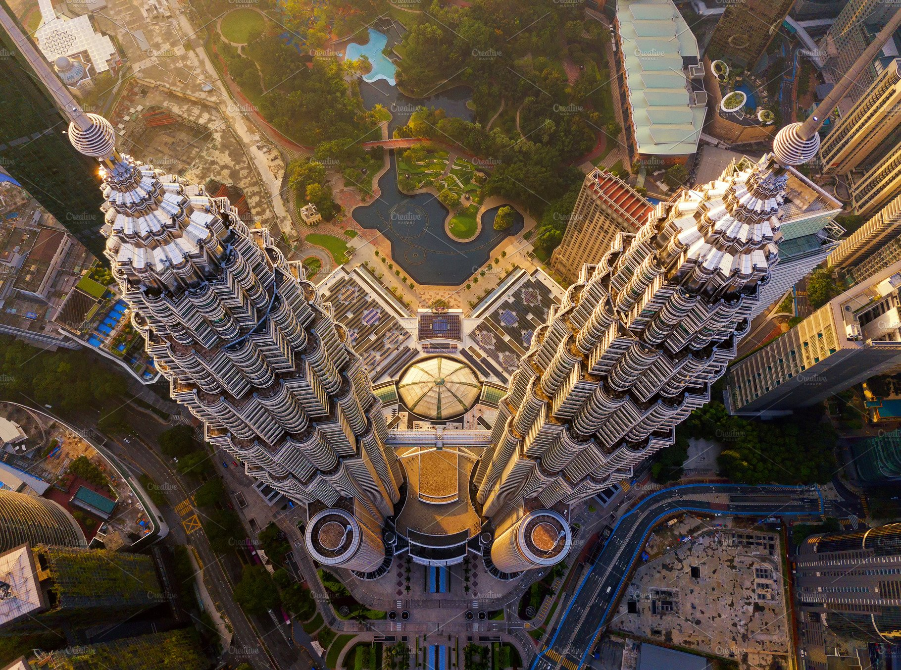 Hình ảnh đẹp về tháp đôi Petrons tại Kuala Lumpur