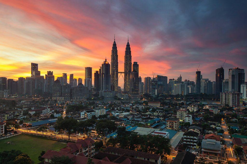 Hình ảnh đẹp về tòa tháp đôi Malaysia