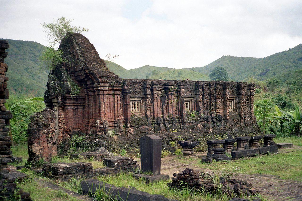 Hình ảnh kiến trúc Champa cổ tại thánh địa Mỹ Sơn
