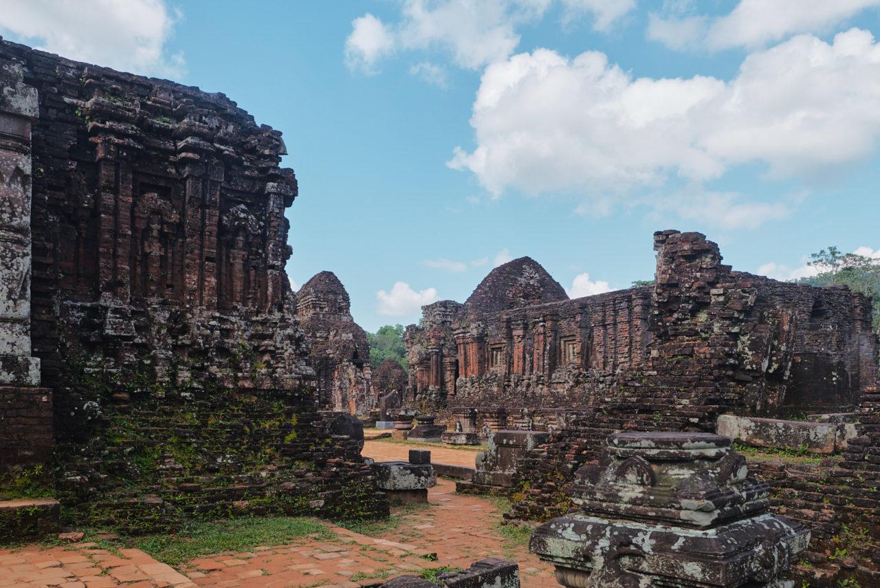 Hình ảnh thánh địa Mỹ Sơn mang đậm nét văn hóa Chămpa tại Việt Nam