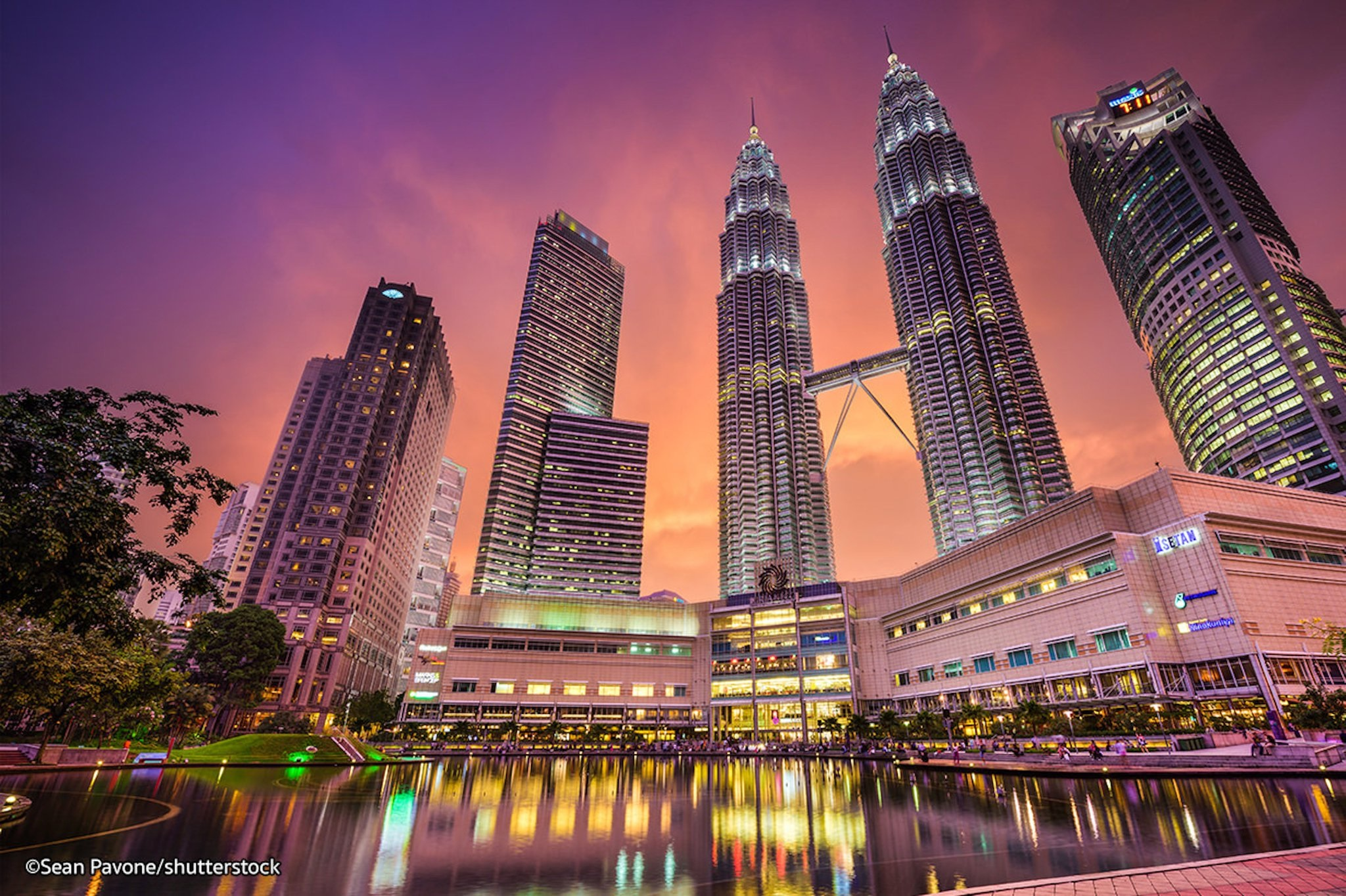 Hình ảnh tháp đôi Malaysia đẹp