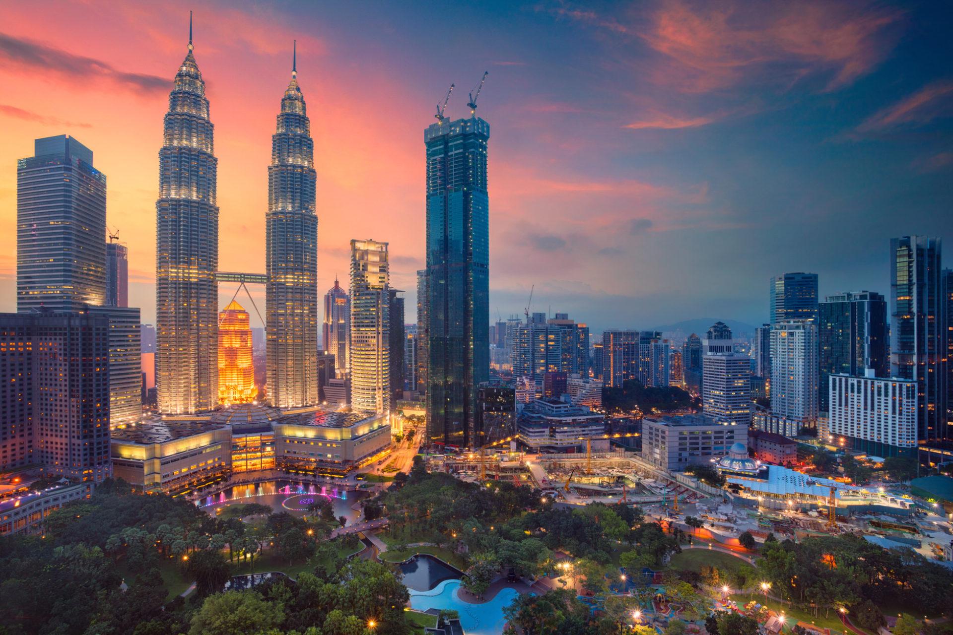 Hình ảnh tòa tháp đôi Malaysia đẹp nhất