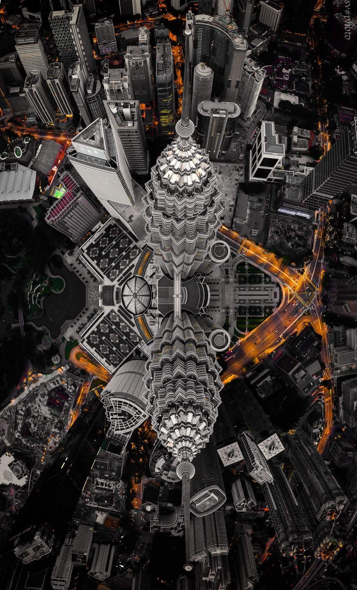 Hình nền tháp đôi Petronas cho điện thoại đẹp nhất