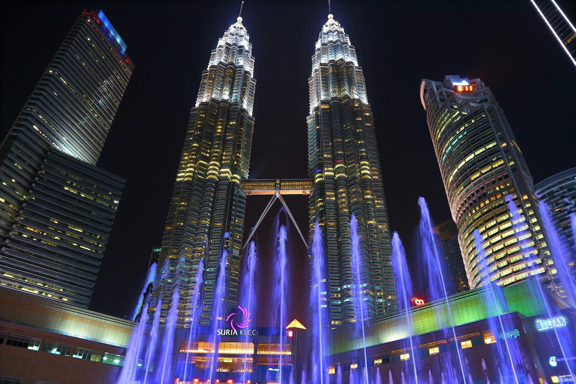 Hình nền tháp đôi Petronas đẹp