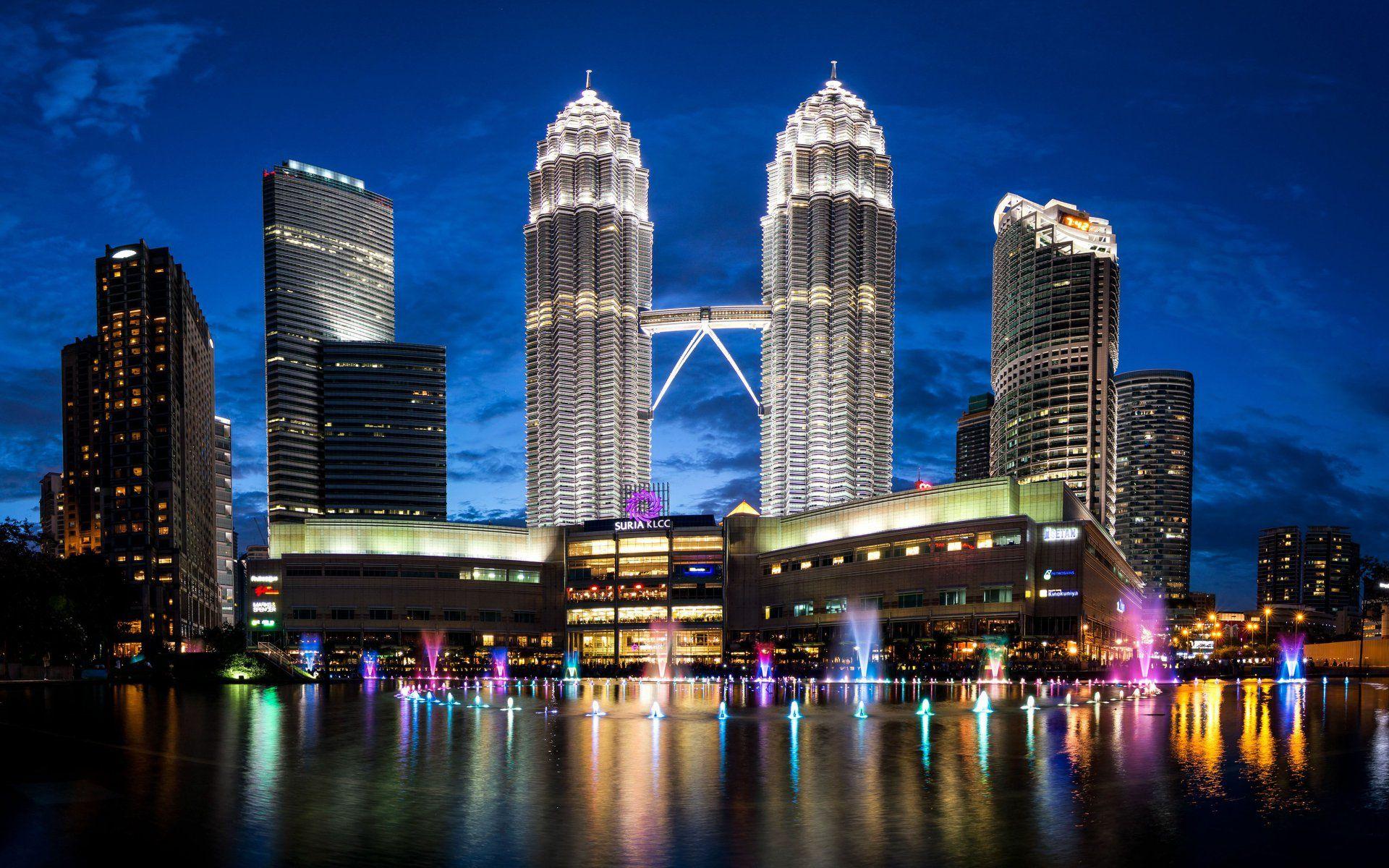 Hình tháp đôi Petronas Malaysia đẹp nhất