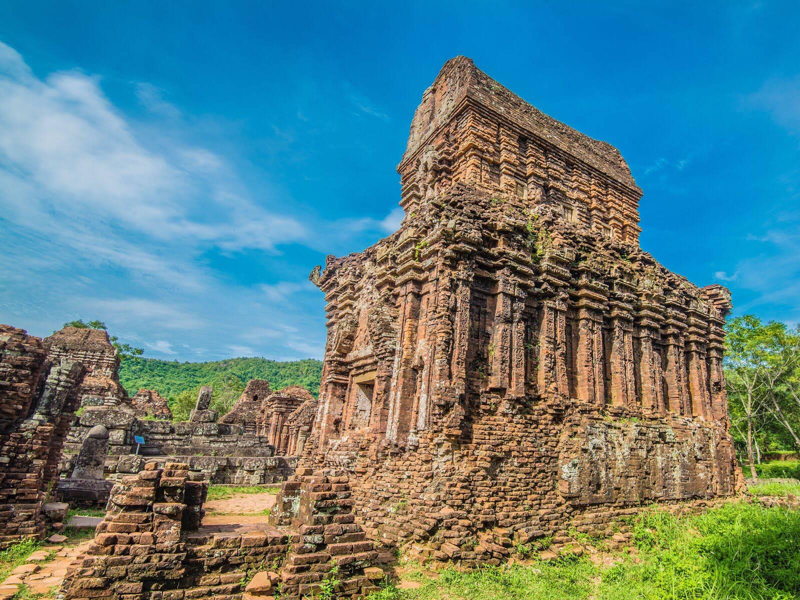 Kiến trúc của người Chăm cổ tại Thánh địa Mỹ Sơn