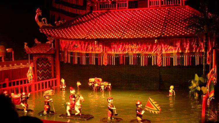Múa rối nước - bộ môn nghệ thuật truyền thống