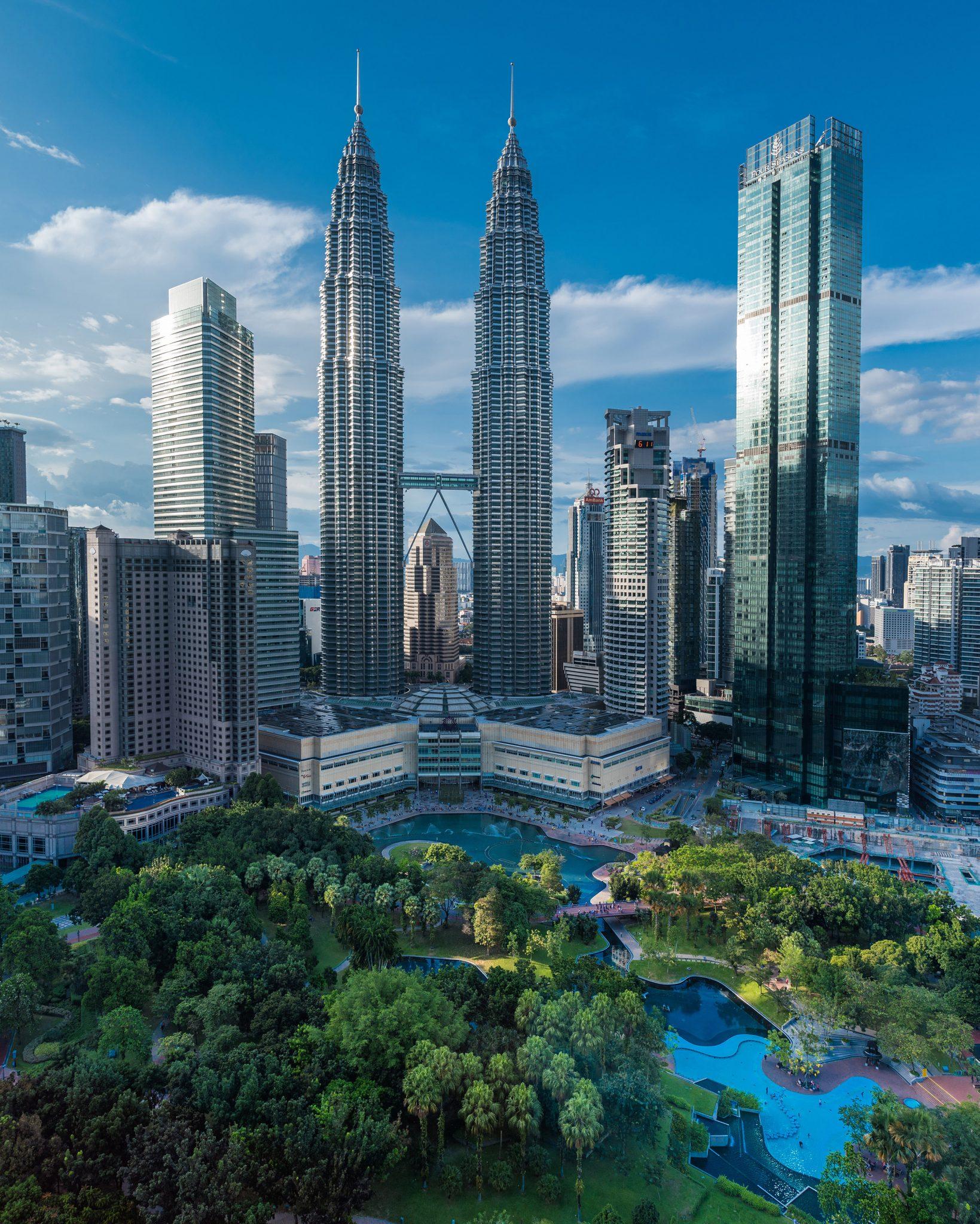 Petronas Towers Daylight