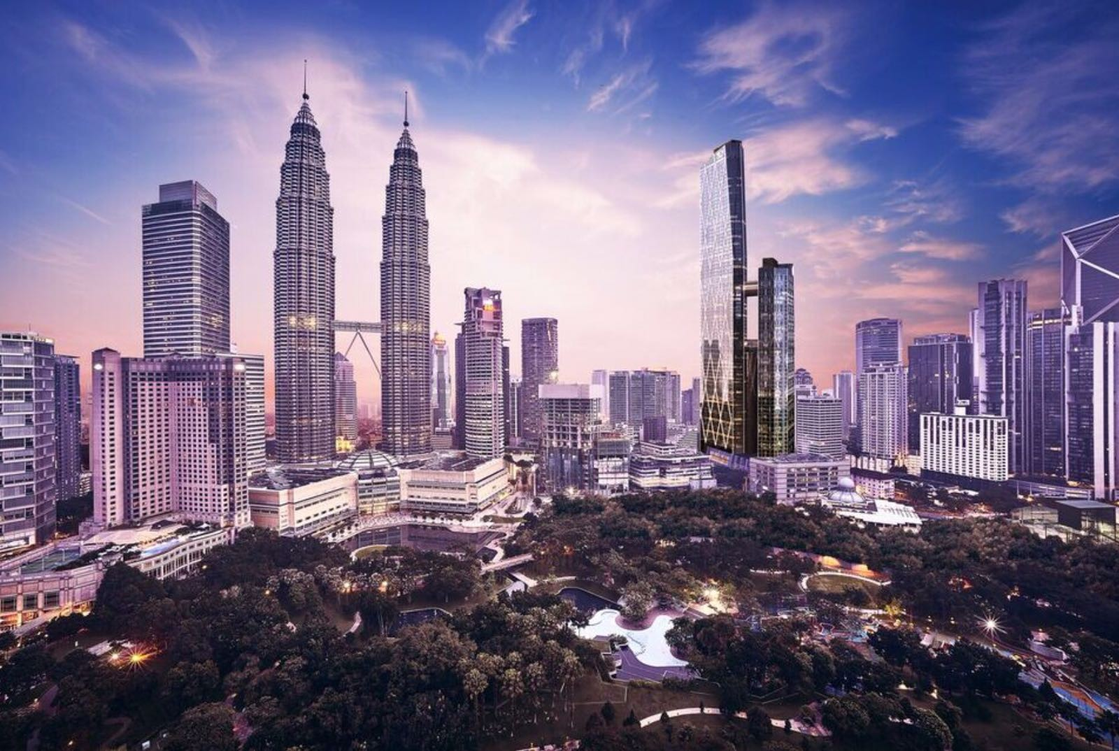 Petronas twin towers Pictures