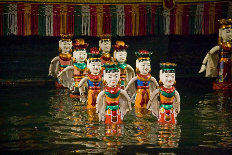 Thang Long Water Puppet Theatre Hanoi