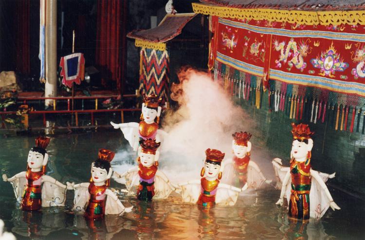 Vé xem múa rối nước