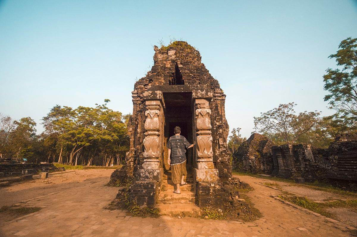 Visting My Son Sanctuary in Hoi An, Vietnam