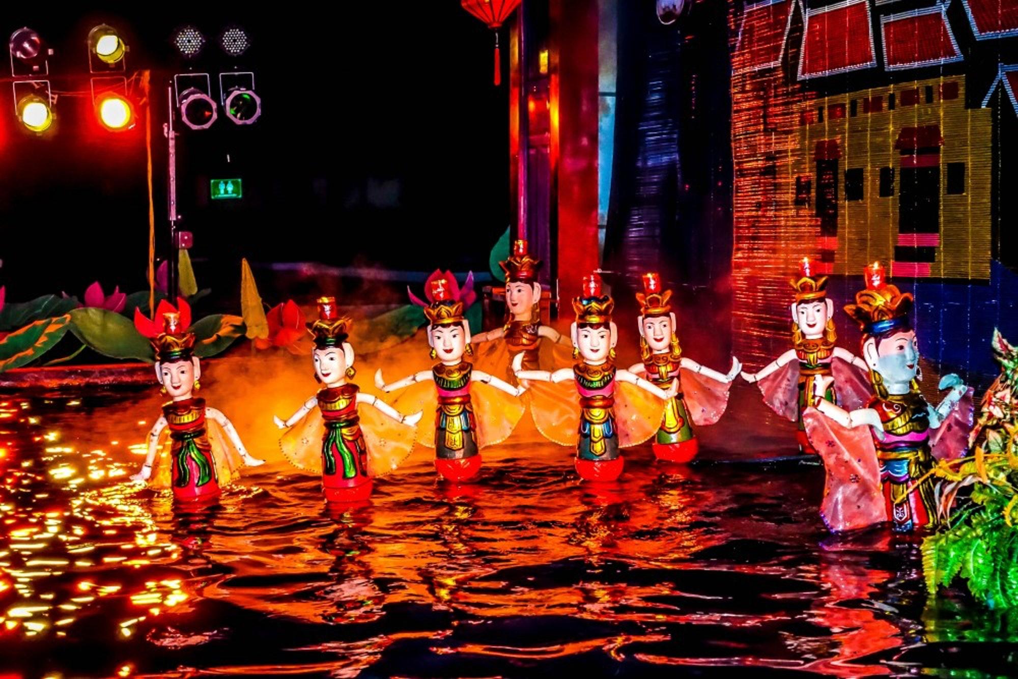 Water puppet show Vietnam