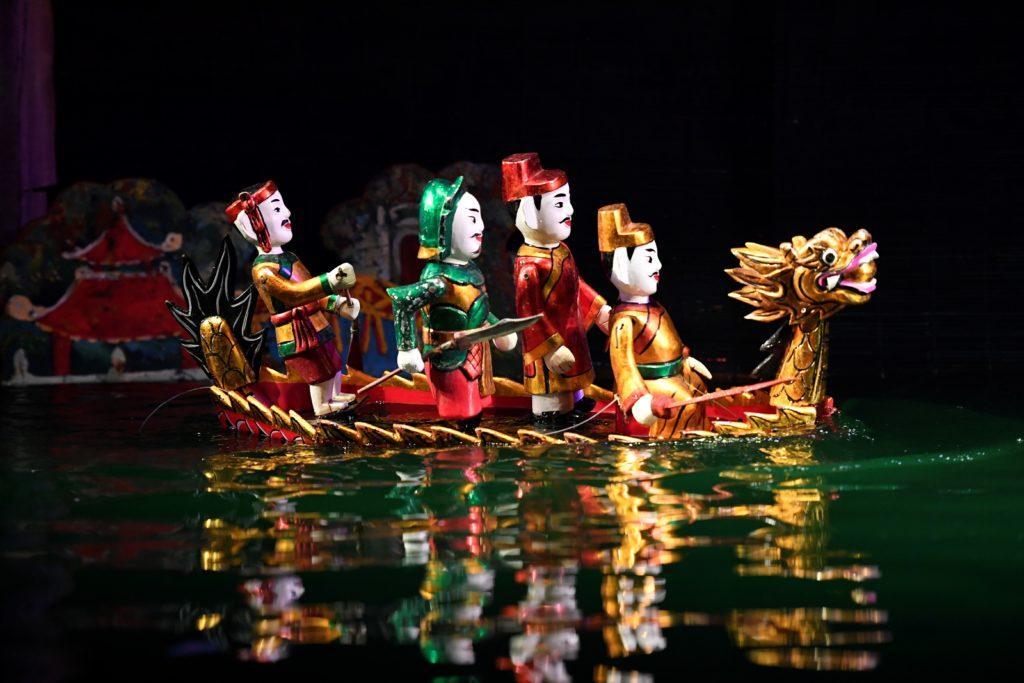 Water puppetry in vietnam