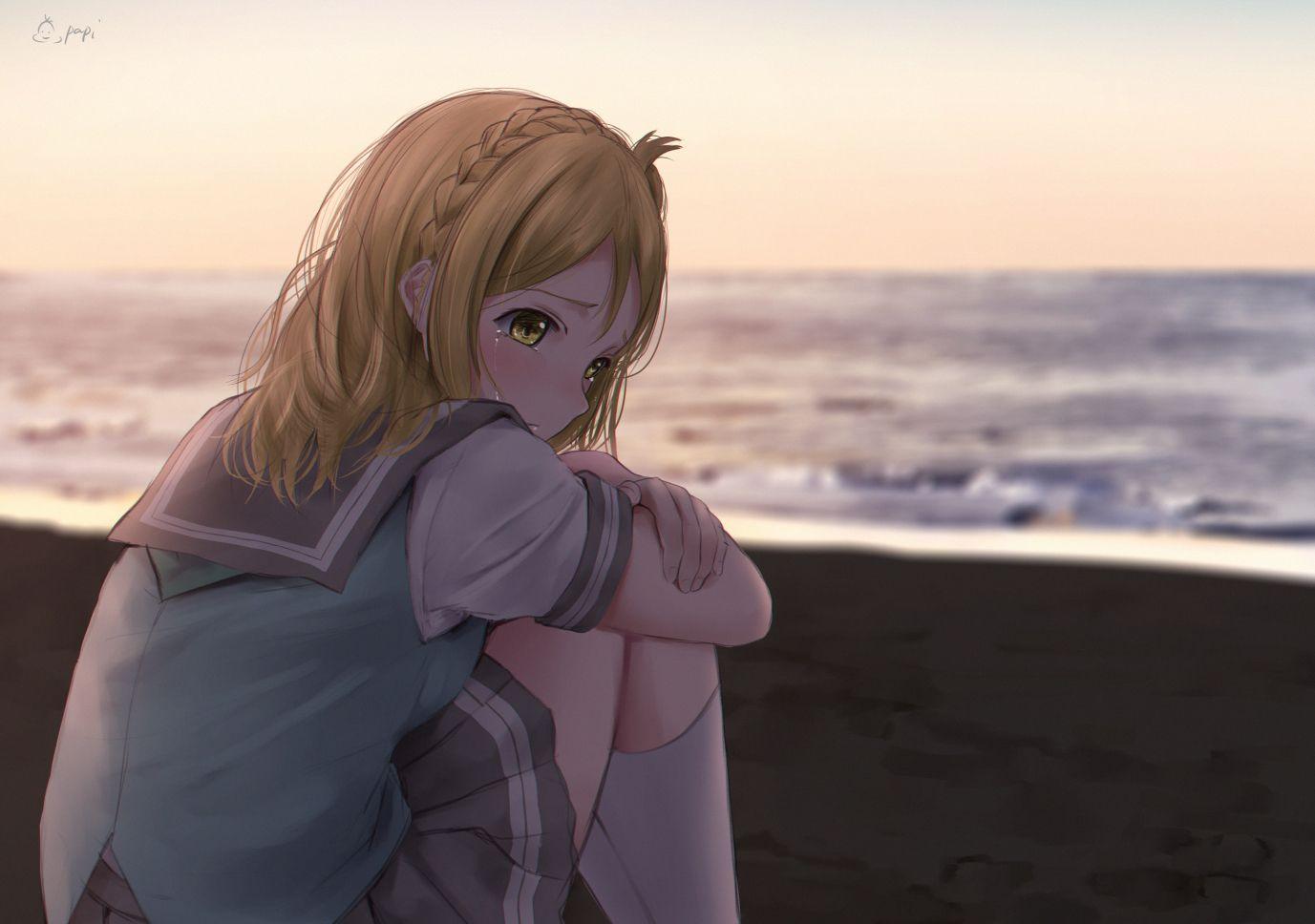 Ảnh anime buồn, đẹp nhất