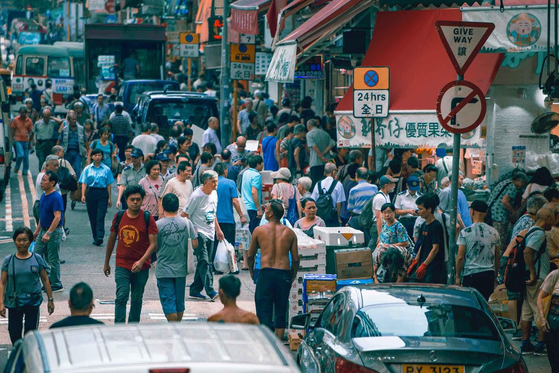 Ảnh cuộc sống bình dị, tấp lập của người dân Hồng Kông