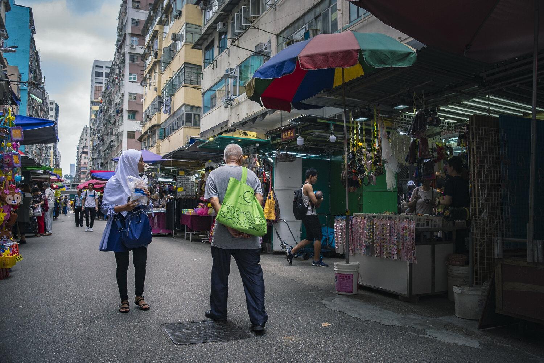 Ảnh cuộc sống thường ngày của người dân Hồng Kông