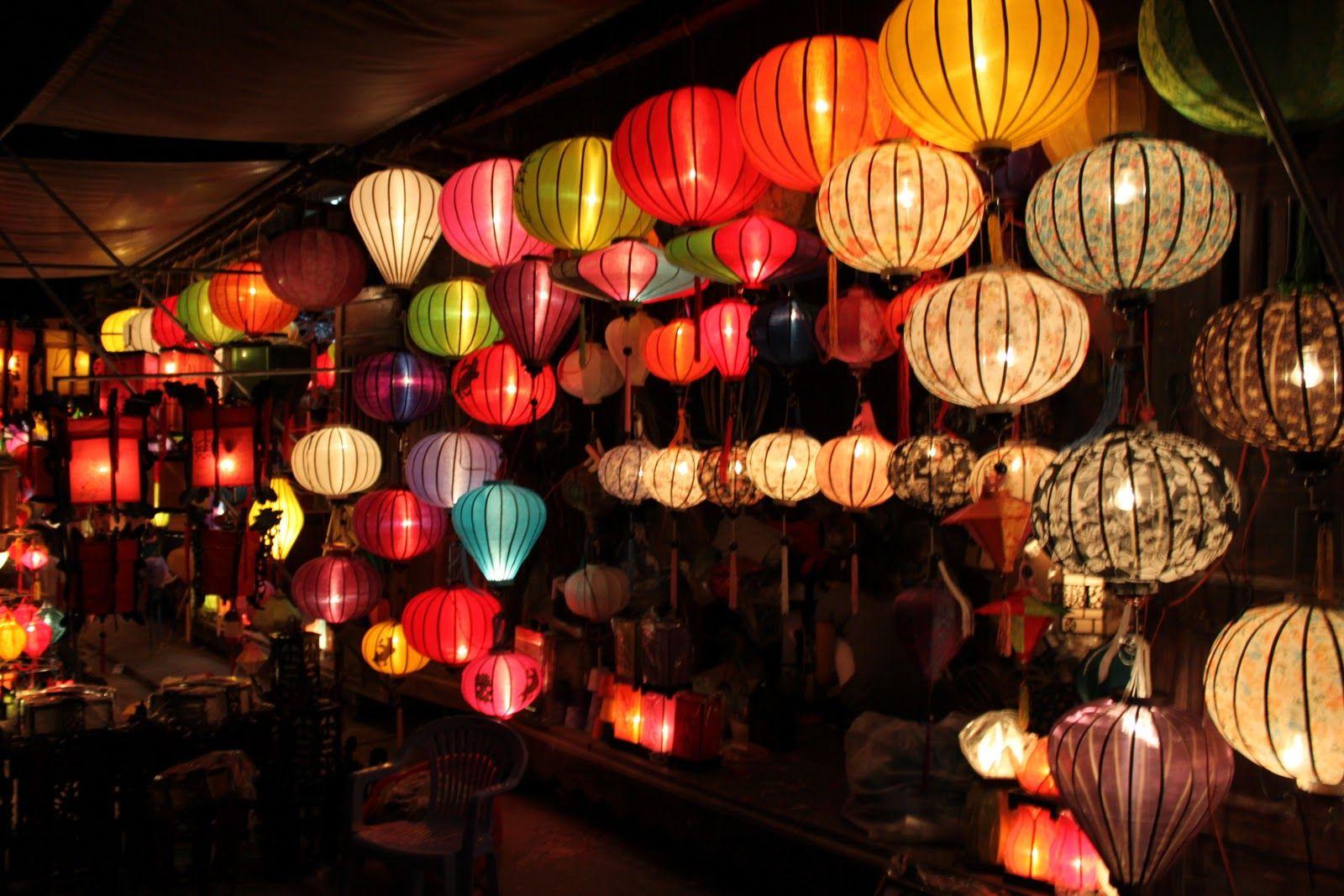 Ảnh đèn lồng phố cổ Hội An đẹp, lãng mạn nhất