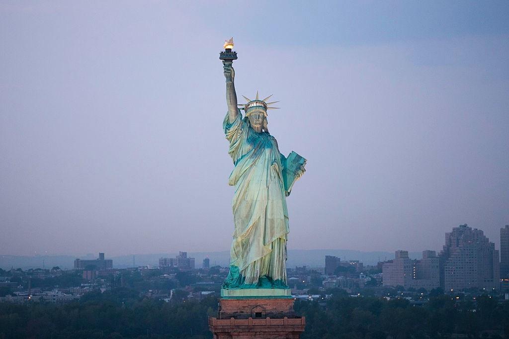 Ảnh đẹp nhất về tượng nữ thần tự do