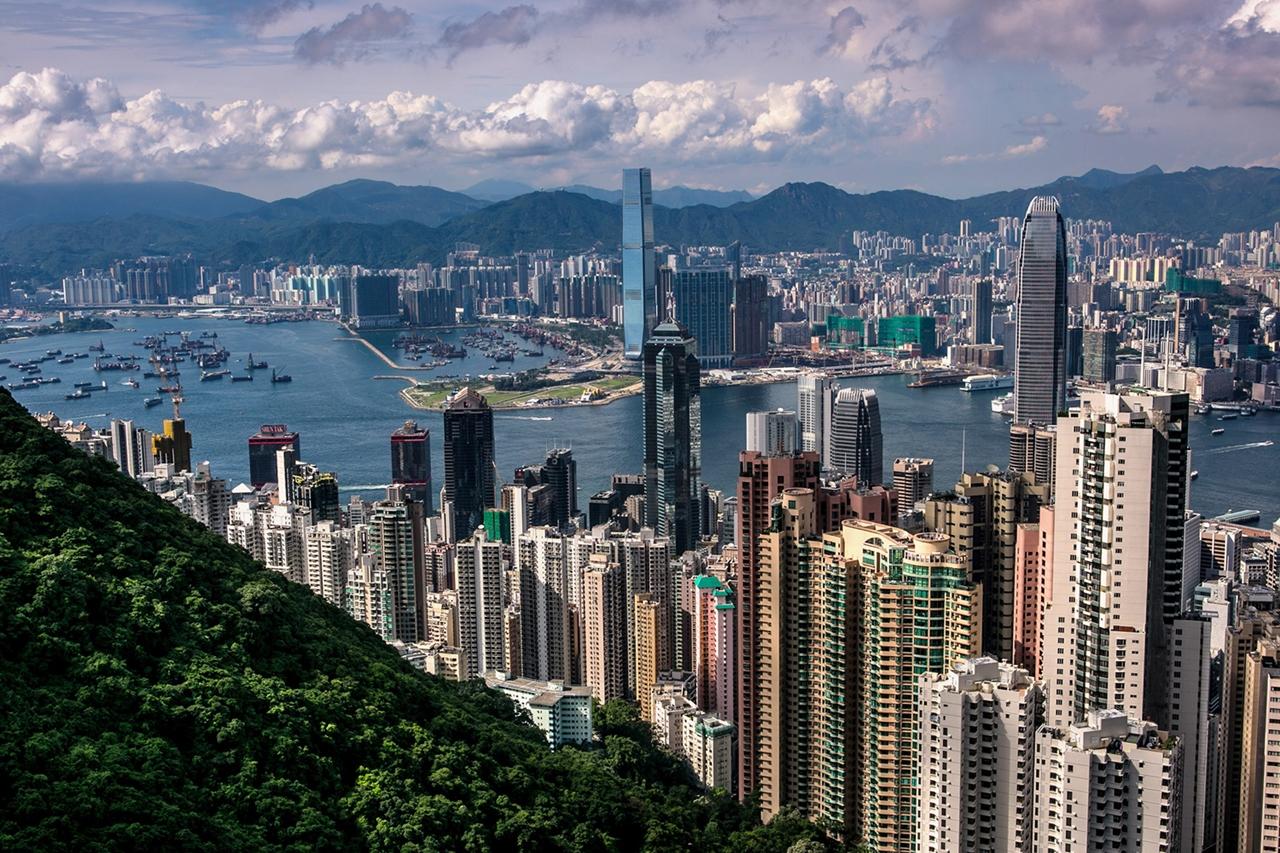 Ảnh đẹp và ấn tượng về  Hong Kong vào ban ngày