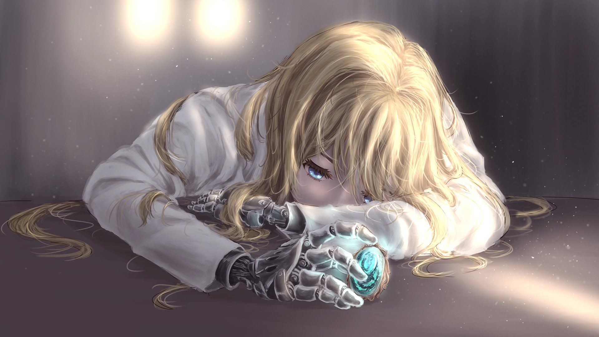Ảnh girl anime buồn, tuyệt vọng cực đẹp