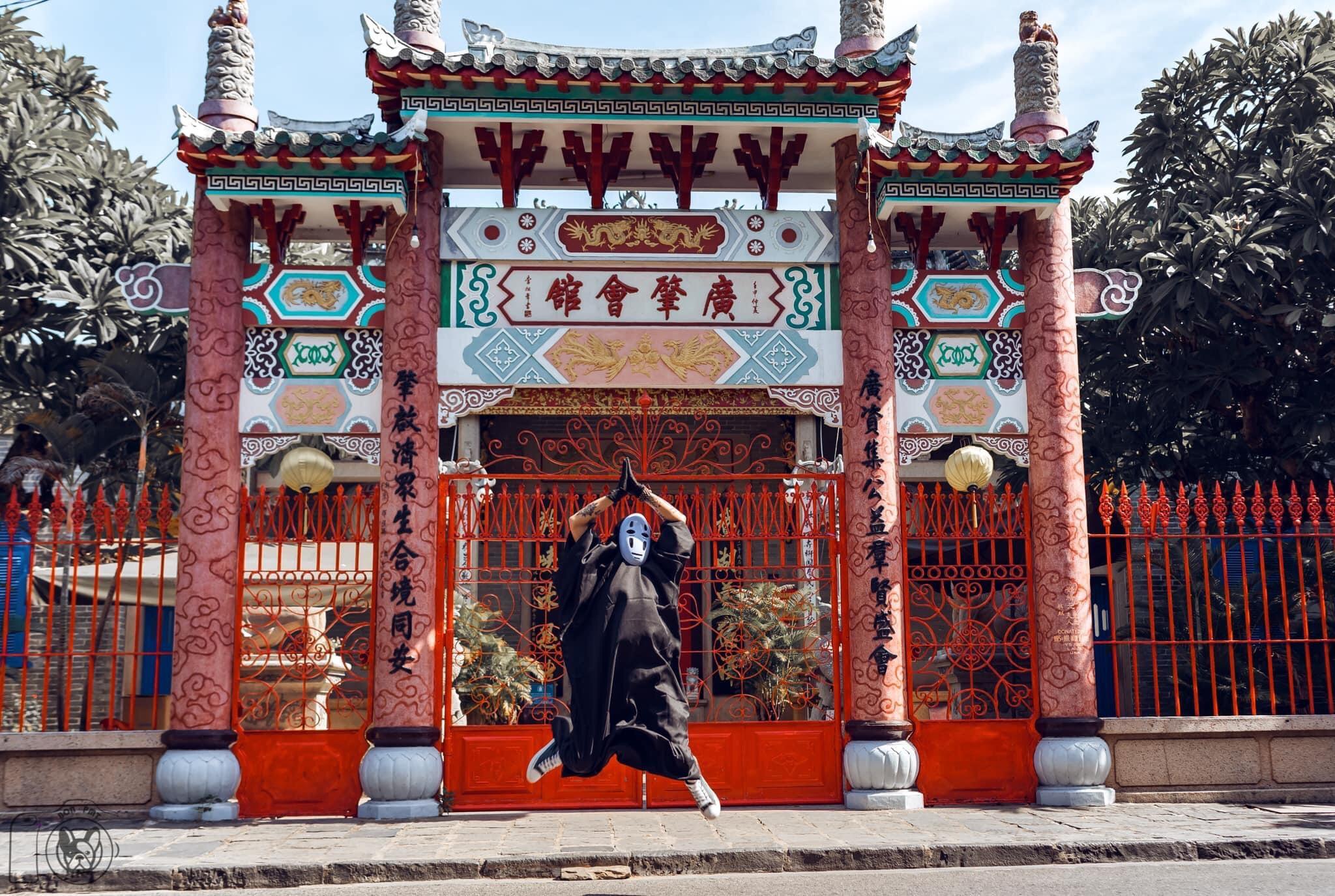 Ảnh Hội quán Triều Châu Hội An