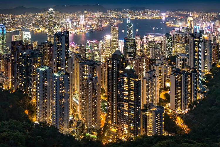 Ảnh Hong Kong đẹp lung linh về đêm