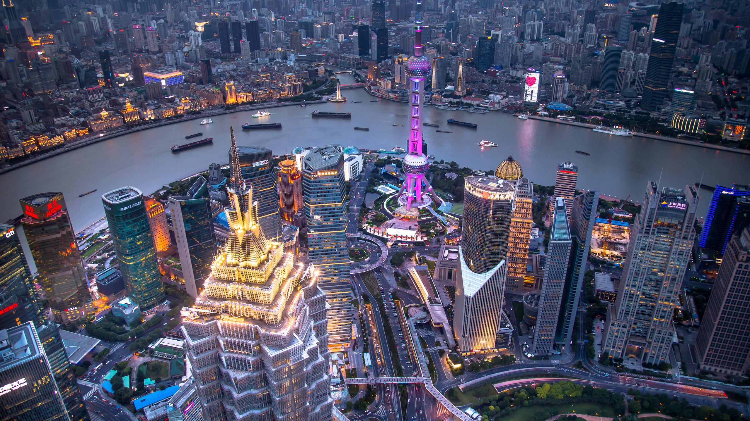 Ảnh Hồng Kông lúc lên đèn