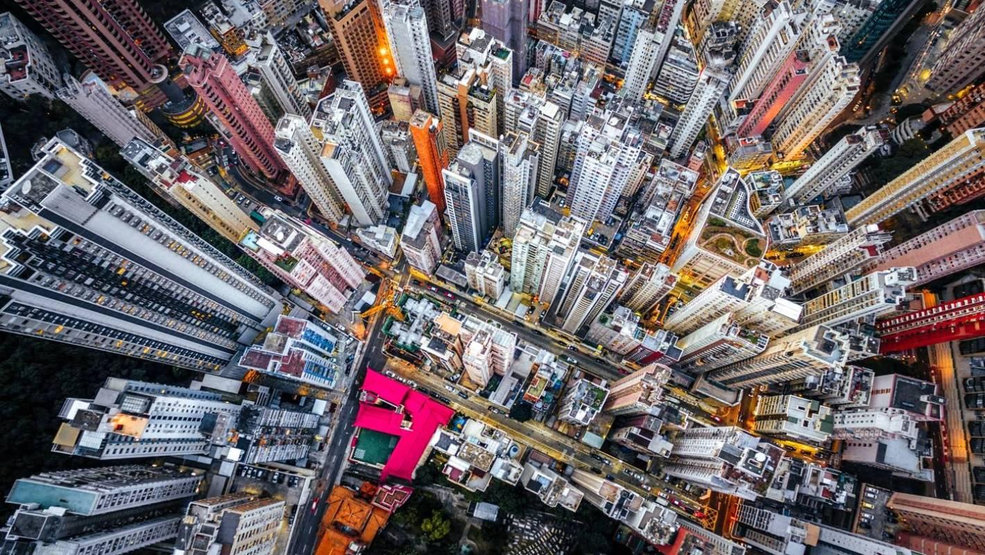 Ảnh Hồng Kông nhìn từ trên cao