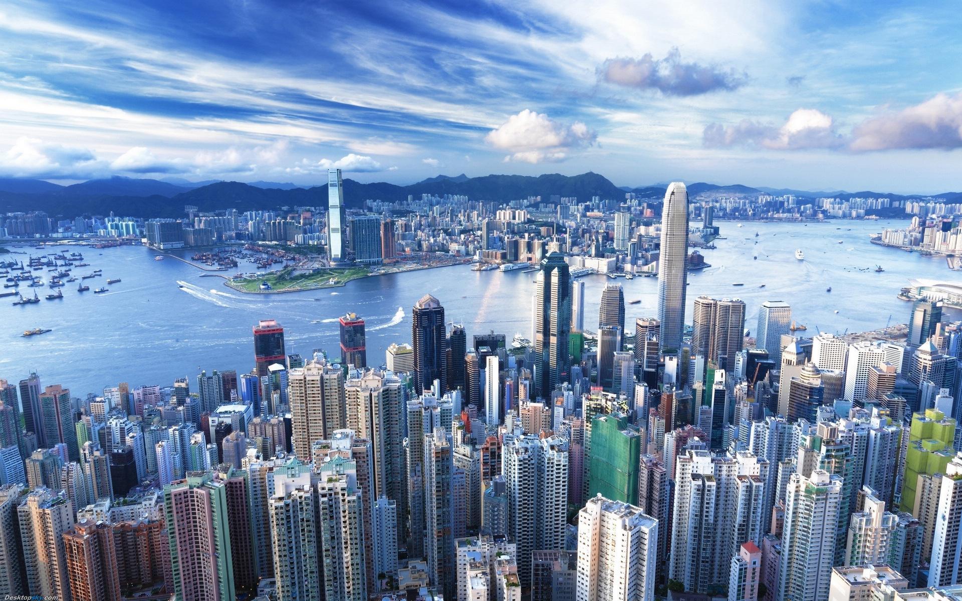 Ảnh Hong Kong - thành phố đắt đỏ nhất châu Á