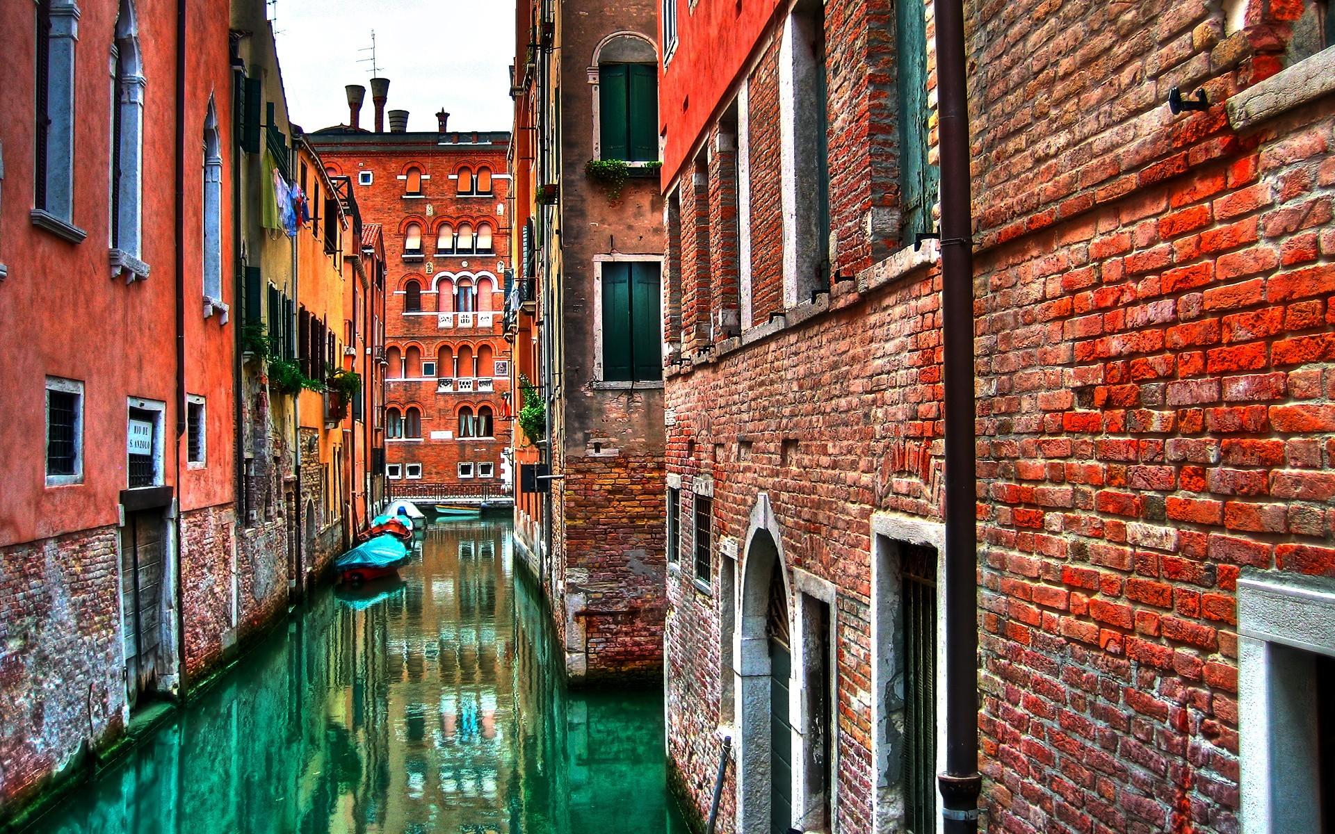Ảnh một góc nhỏ kiến trúc tại Venice xinh đẹp