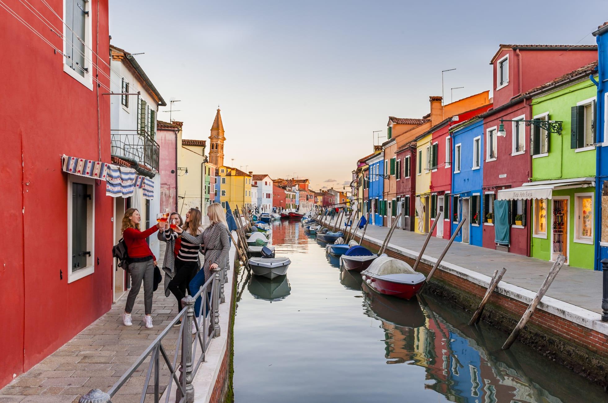 Ảnh Quần đảo Murano xinh đẹp Venice