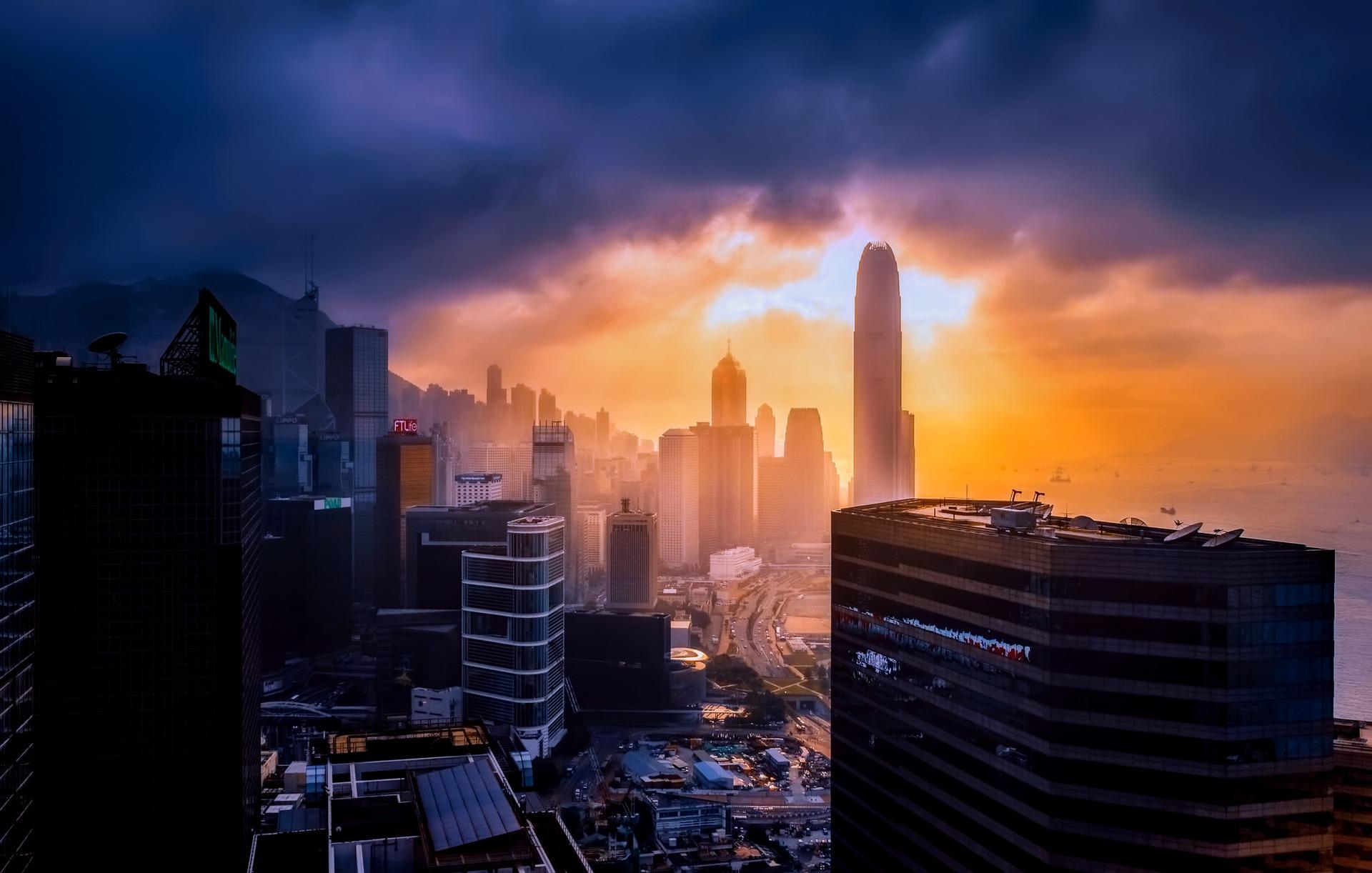 Ảnh thành phố Hồng Kông xinh đẹp và hiện đại