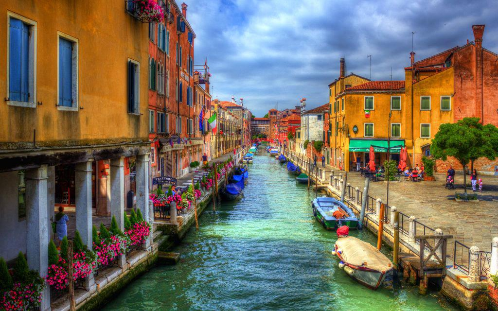 Ảnh thành phố kênh đào đẹp nhất thế giới - Venice