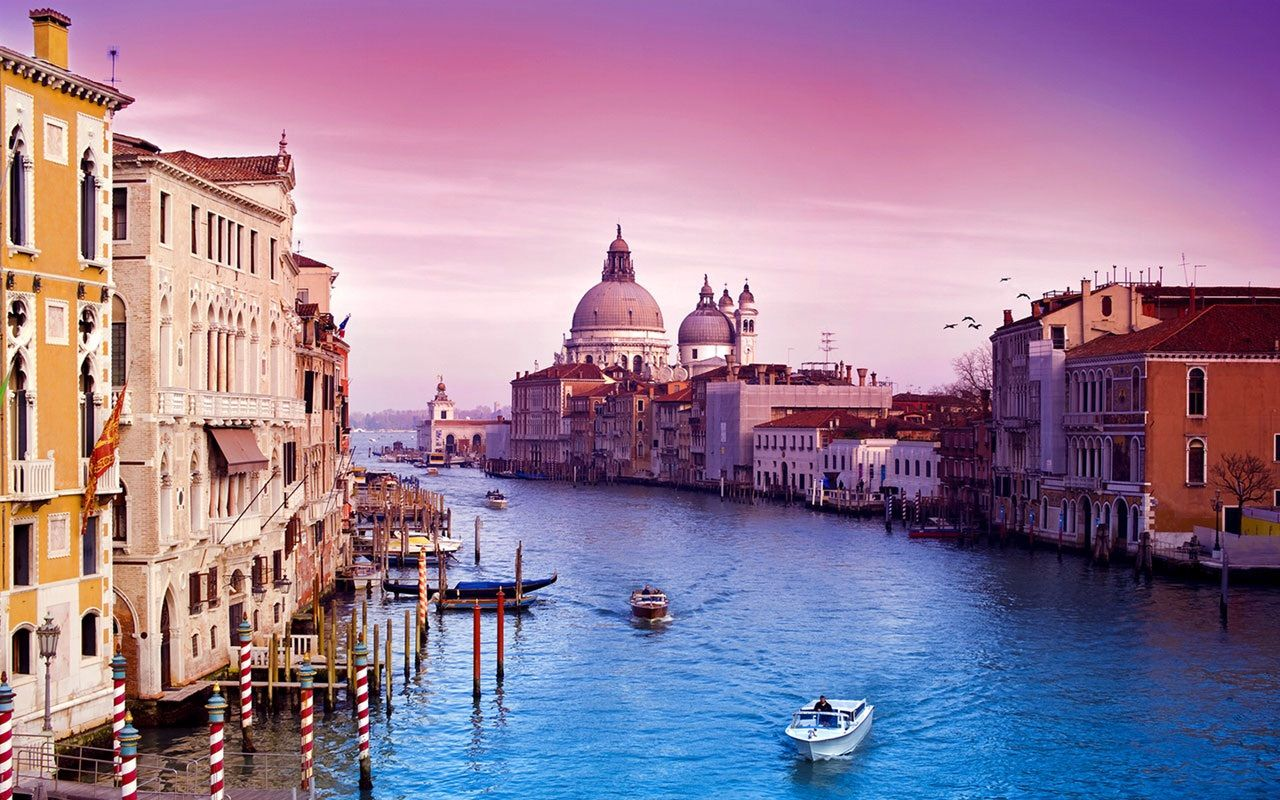 Ảnh thành phố Venice đẹp, thơ mộng