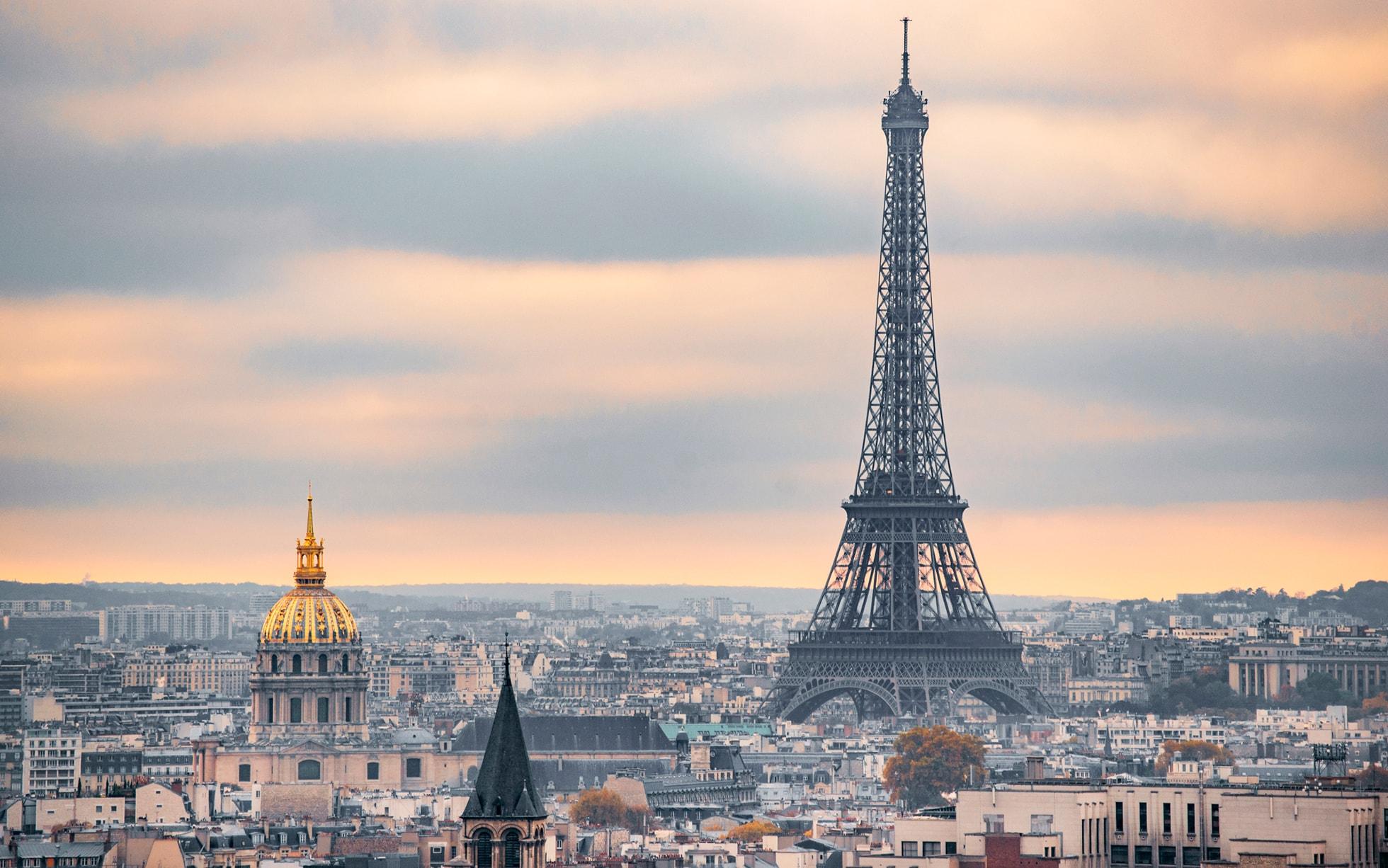 Ảnh tháp Eiffel lãng mạn đẹp nhất