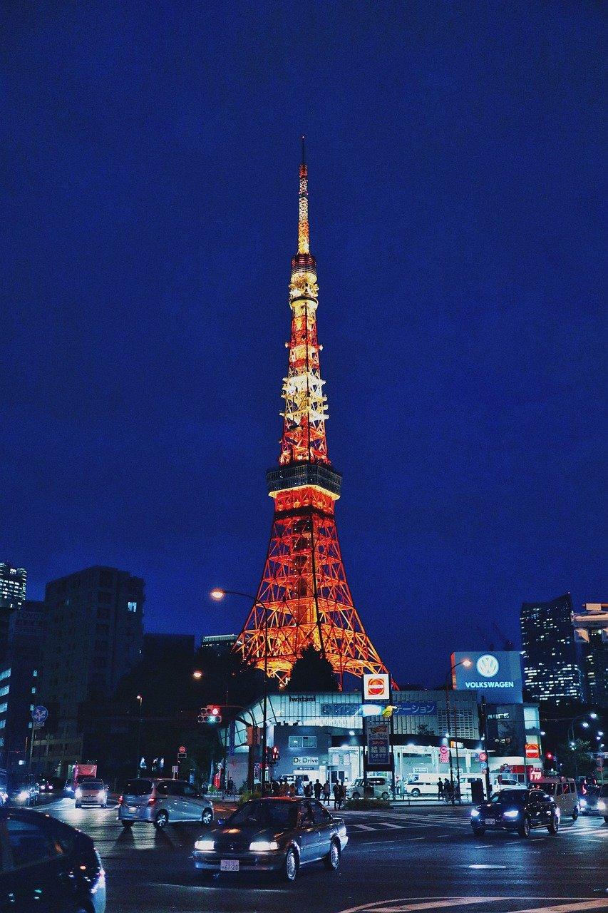 Ảnh tháp Tokyo đẹp