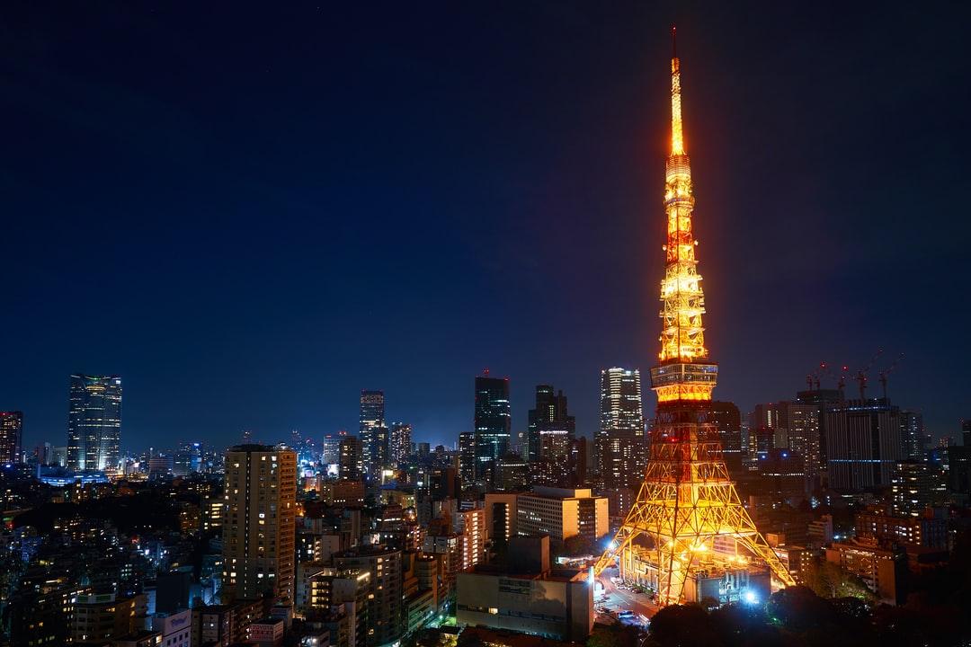 Ảnh tháp Tokyo về đên