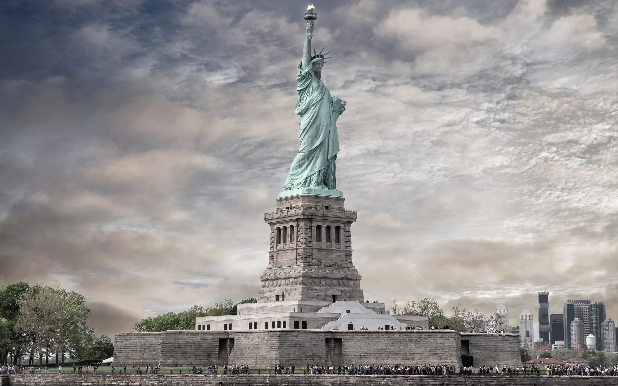 Ảnh tượng nữ thần tự do biểu tượng của nước Mỹ