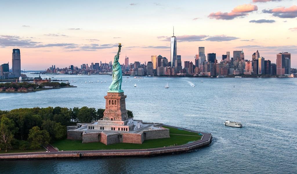 Ảnh tượng nữ thần tự do và toàn cảnh New York