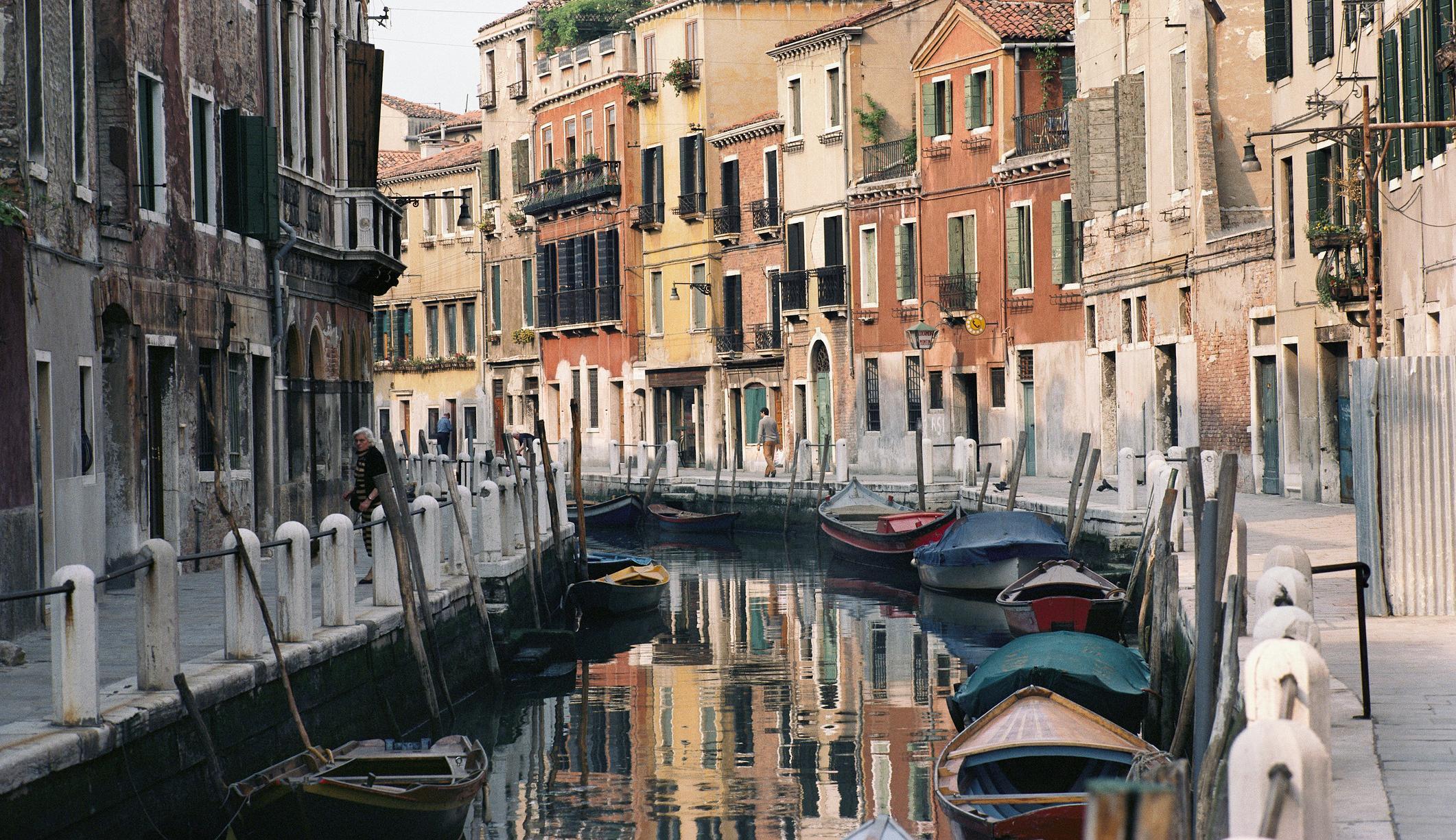 Ảnh vẻ đẹp của một Venice không bóng ngừo